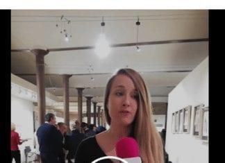 Sara Dodd de Nomadic Dreamer en el encuentro Viajero Responsable