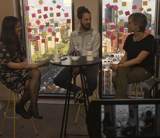 Entrevista a Jorge Sierra y a Itziar Marcotegui