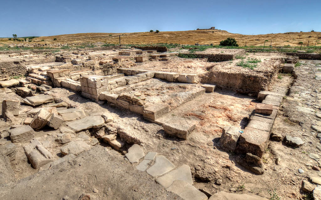 Yacimiento Arqueológico de la Ciudad Íbero Romana de Cástulo en Jaén